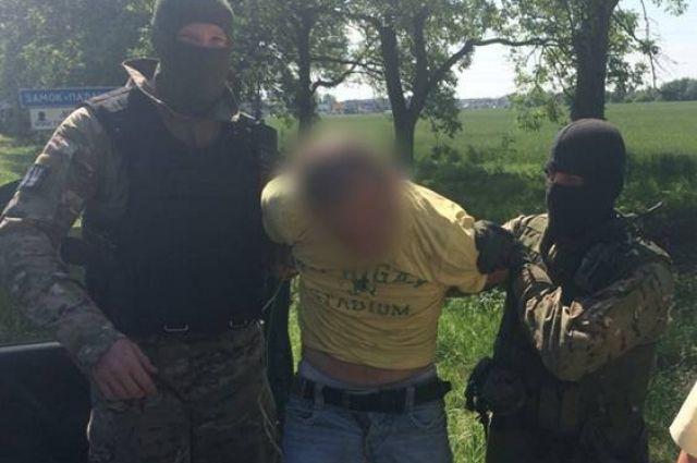 Задержание одного из преступной группировки