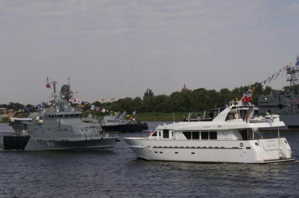 Доклад командующему Каспийской флотилией.