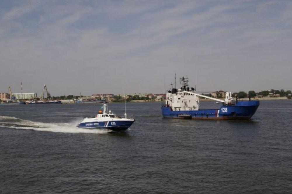 Освобождение судна от террористов.