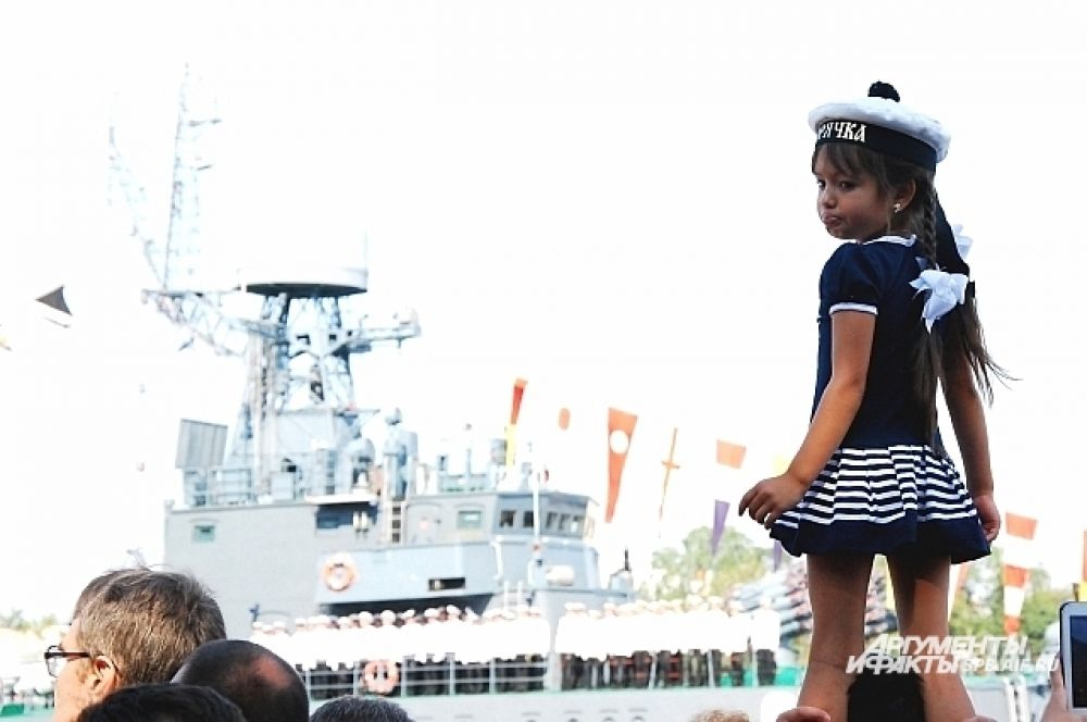 Юная морячка