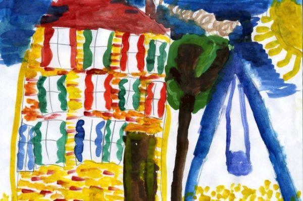 «Любимый дом». Дарья Мурашова, 5 лет.
