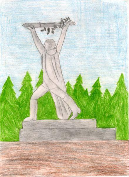 «Омск. Парк Победы». Никита Аникеев, 9 лет.