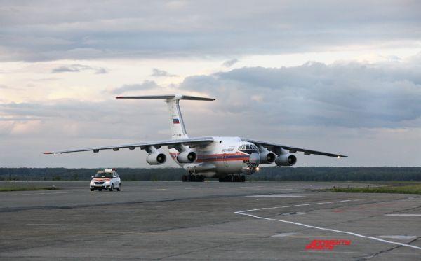 Украинцы прилетели в столицу Южного Урала спецбортом МЧС.
