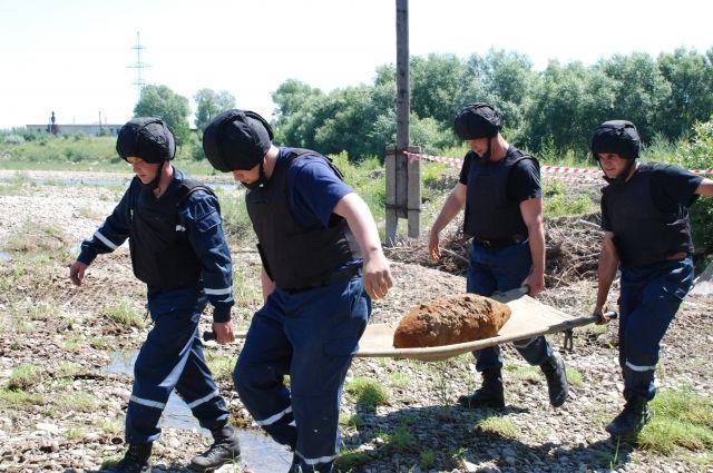 Разминирование в Славянске