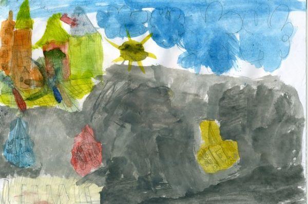 «Улица моего города». Мирослава Диких, 5 лет.