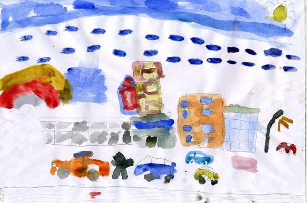 «Моя улица Масленникова». Андрей Буртасов, 6 лет.
