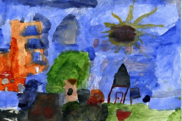 «Мой город». Карина Абайдуллина, 5 лет.