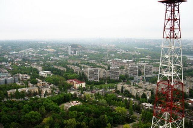 Телевышка в Донецке