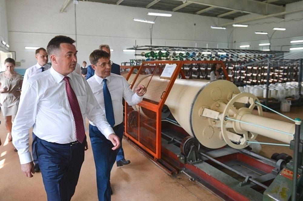 Глава Приморского края посетил фабрику орудий лова.