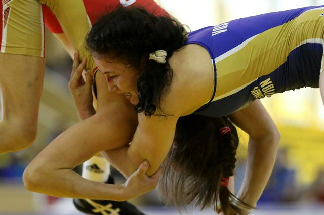 Спортсменка из Приангарья выступала в весовой категории до 63 кг.