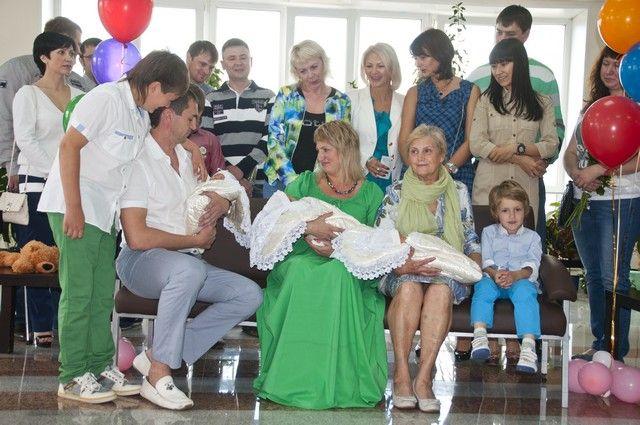 Счастливое семейство Сергиенко.