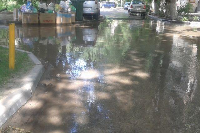 Власти Златоуста ответят за подтопление домов в результате сильных дождей