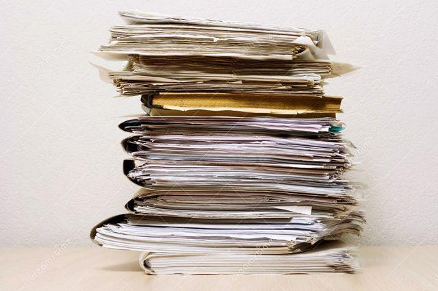 От бумажных документов в Омске решено избавиться.