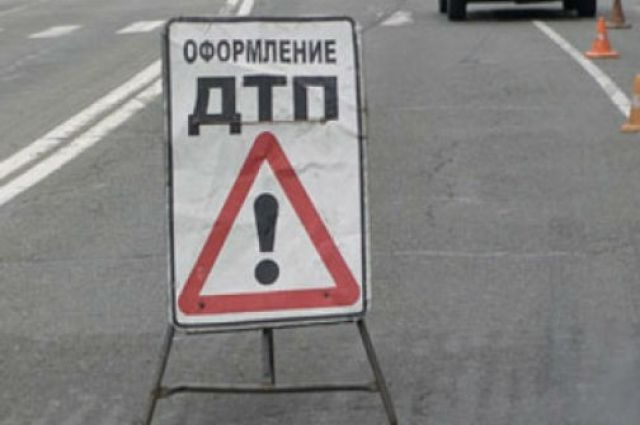 Четыре автомобиля столкнулись на трассе «Тюмень - Омск».