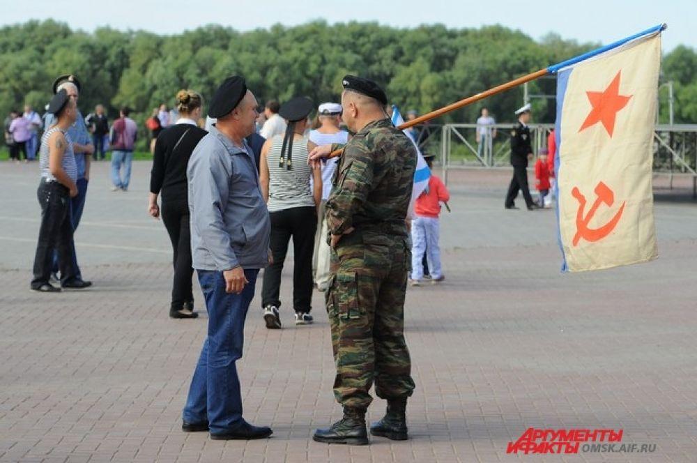 День ВМФ в Омске.