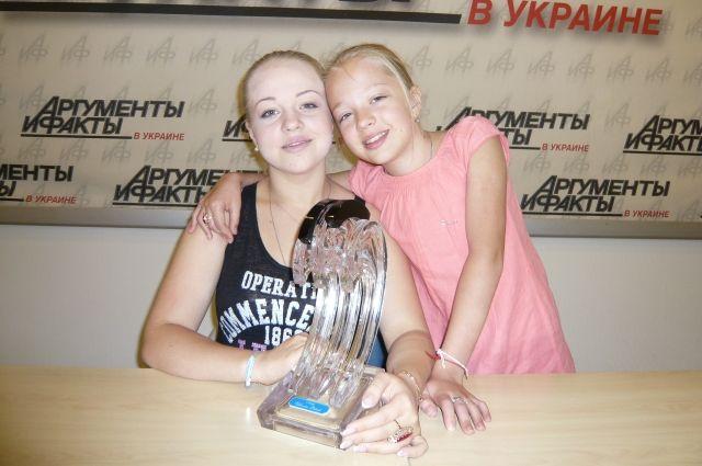 Анастасия и Виктория Петрик