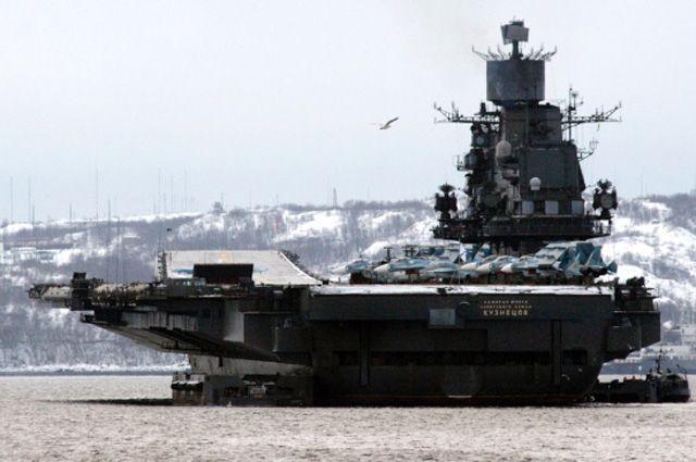 Авианесущий крейсер.