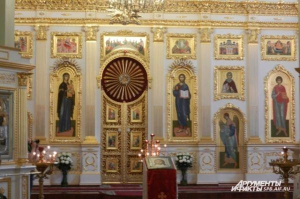 В церкви святого Пантелеймона