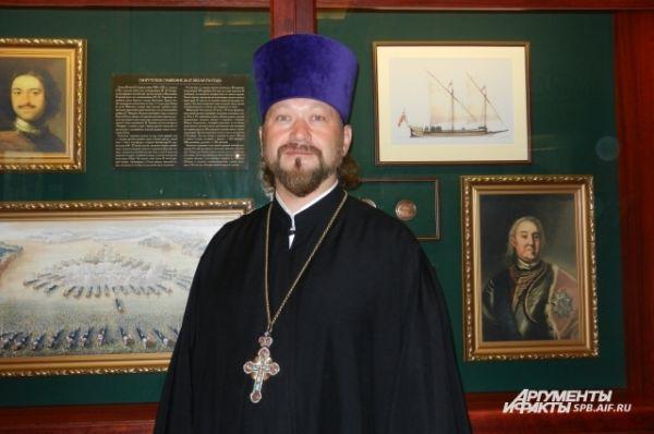 Протоиерей Александр Румянцев, настоятель церкви святого Пантелеймона
