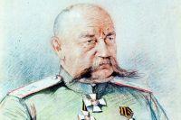 Генерал Н. Н. Юденич. Художник М. Мизернюк, 1916 г.