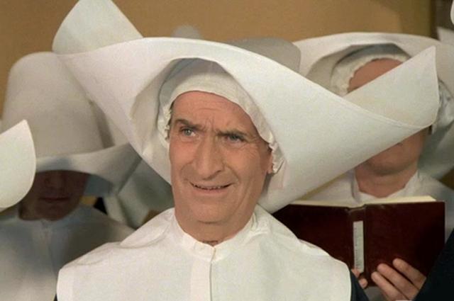 Луи де Фюнес. «Жандарм и инопланетяне», 1978 год.