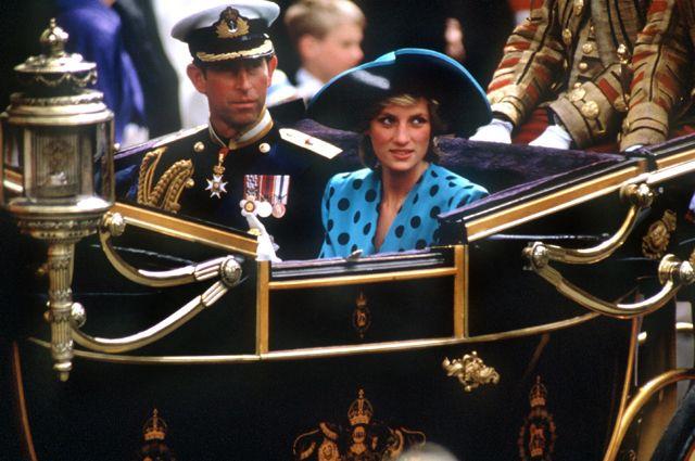 Принц Чарльз и принцесса Диана. 1989 год.