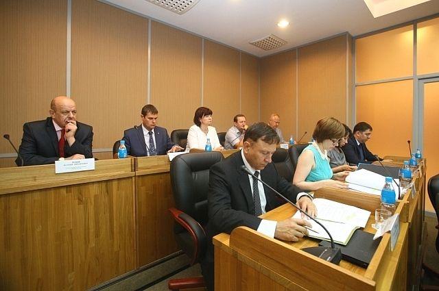 Заседание Законодательного Собрания Приморского края.