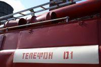 10 пожарных тушили возгорание в Кировском округе.