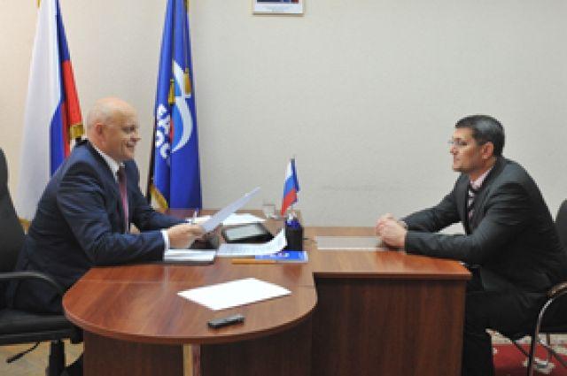 Виктор Назаров встретился с гражданами.