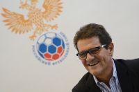 Фабио Капелло перед началом заседания Исполкома Российского футбольного союза.