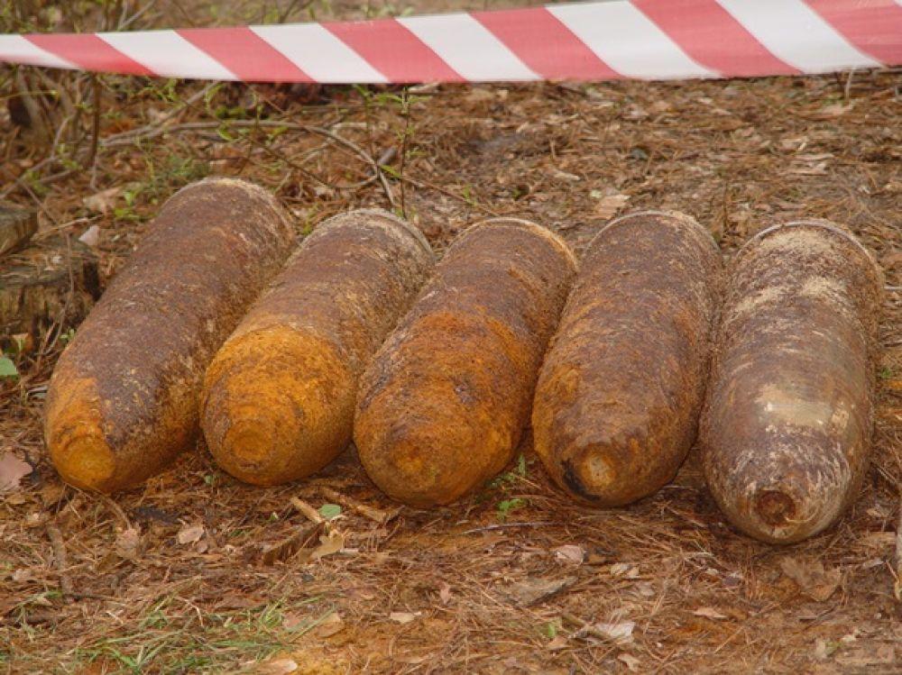 Мины-растяжки и гранаты в Славянске