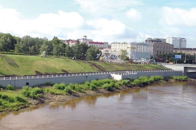 На обновленной набережной Оми впервые будет отмечаться День города.
