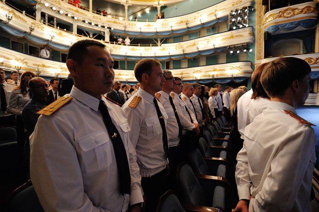 Лучшие сотрудники СК собрались в центре Иркутска.
