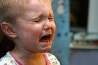 Двухлетний ребёнок обварился кипятком.