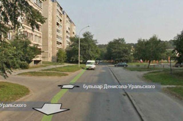 Дорожные службы не успели завершить работы на улице Денисова-Уральского