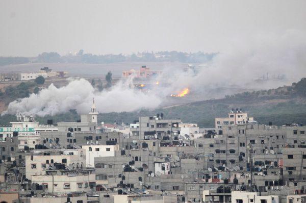 В результате израильских бомбардировок 29 июля в секторе Газа погибли 12 палестинцев, включая троих детей.
