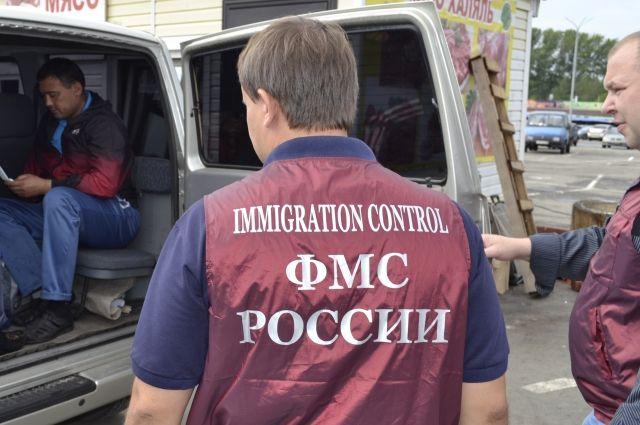 Задержание нелегальных мигрантов.