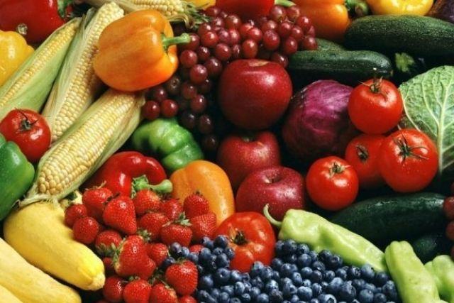 Продукты со своего огорода.