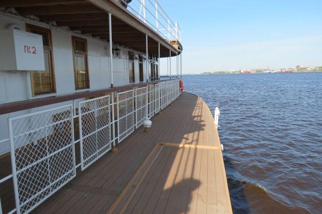 Вид с палубы парохода «Гоголь».