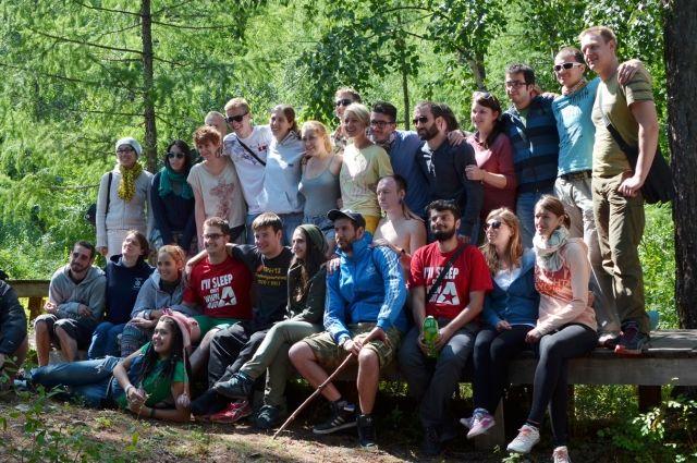 43 иностранных волонтера приехали на Байкал делиться экоопытом.