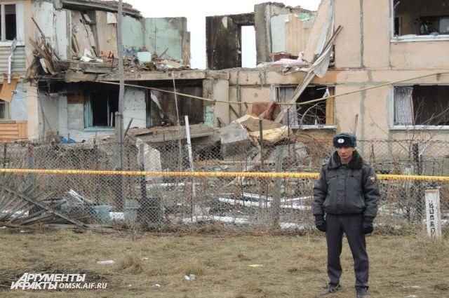Дом был признан неподлежащим восстановлению.