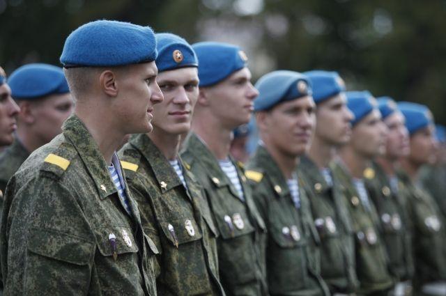 Десантники будут праздновать День ВДВ.