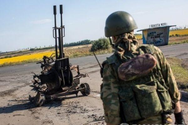 Колонна десантников под Шахтерском попала в засаду