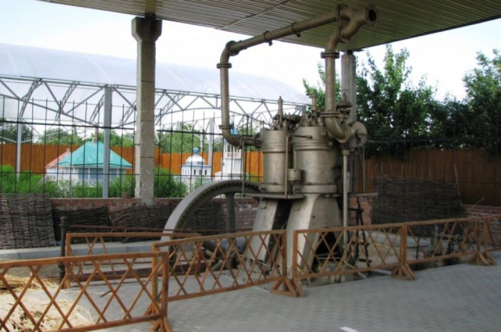 Так выглядит двигатель мельницы, найденный в х. Рябичи.