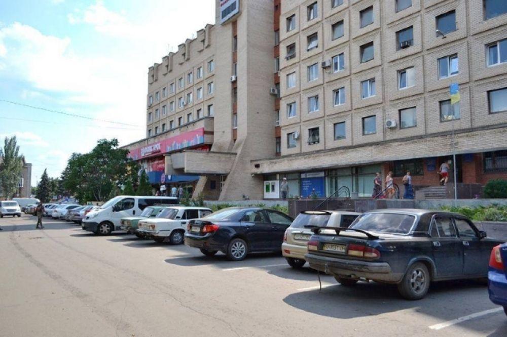 Славянск оживает после войны