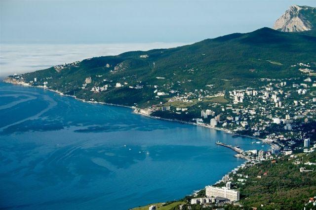 Дети из Омской области отдохнули в Крыму.