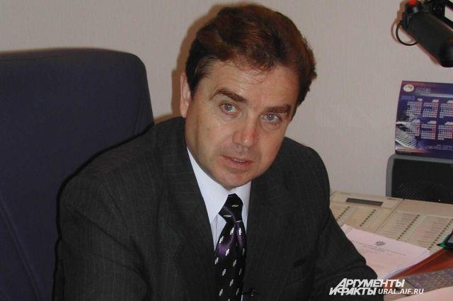 Судья свердловского Уставного суда Мостовщиков ушел на пенсию