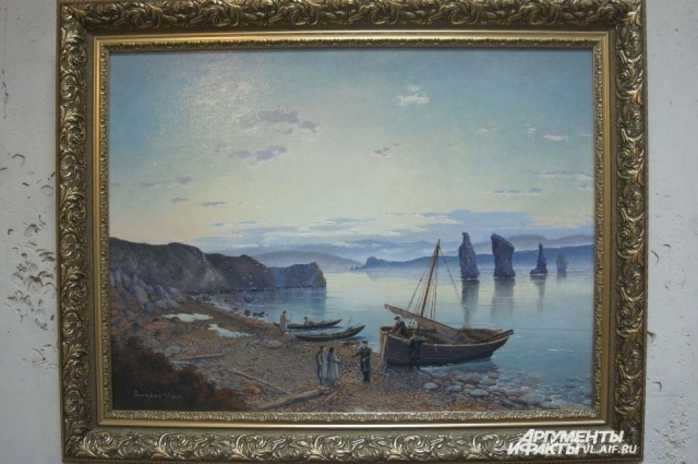 Любовь к морю видна в каждой работе Валерия Шиляева.