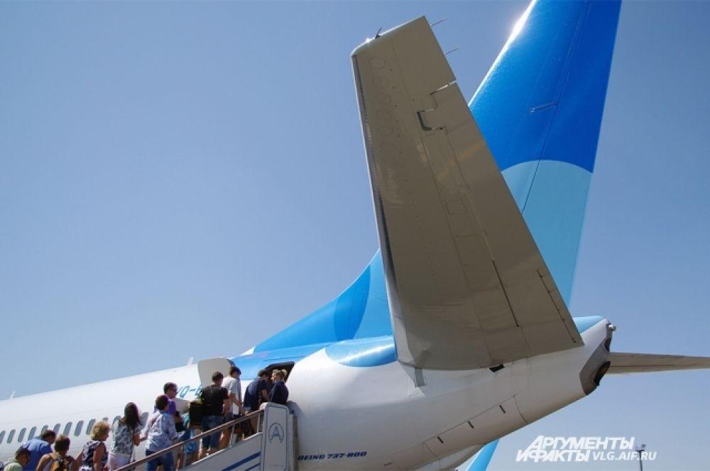 На первые рейсы нового авиаперевозчика были выкуплены все билеты.