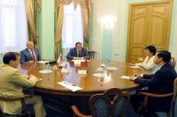 Сотрудничество Омска и Китая обсудили в городе.